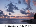Cloudscape Over Ocean And...