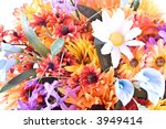 composition with flowers. | Shutterstock . vector #3949414