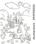 Coloring Pages. Five Little...