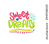 Sweet Dreams Card. Bright ...