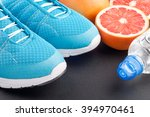 Blue Sport Shoes Sneakers ...