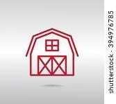 hangar icon   Shutterstock .eps vector #394976785