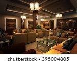 hotel  tv room 1 | Shutterstock . vector #395004805
