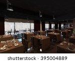 hotel  restaurant 6   Shutterstock . vector #395004889