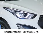 closed up amp head of the car. | Shutterstock . vector #395008975