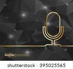 Creative Vector Microphone. Ar...