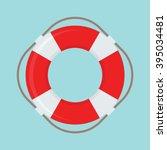 Life Buoy Vector Icon