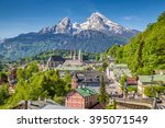 Historic Town Of Berchtesgaden...