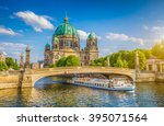 beautiful view of historic... | Shutterstock . vector #395071564