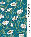 chamomile seamless pattern | Shutterstock . vector #395083321