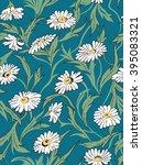 chamomile seamless pattern | Shutterstock . vector #395083321
