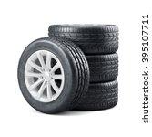 3d rendering of new unused car... | Shutterstock . vector #395107711