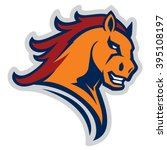mustang sport mascot   Shutterstock .eps vector #395108197