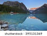 Beautiful Lake Louise In Banff...