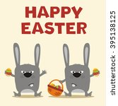 collection isolated easter... | Shutterstock .eps vector #395138125