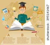 Education Infographics Open...