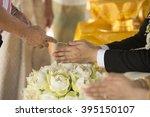 thailand traditional wedding... | Shutterstock . vector #395150107