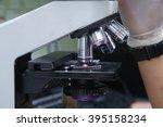 microscope in a laboratory   Shutterstock . vector #395158234