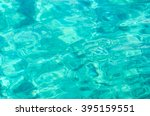 Transparent Turquoise Sea Wate...
