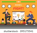 competitive business ideas... | Shutterstock .eps vector #395175541