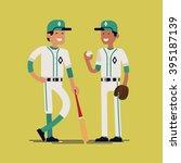 Cool Vector Baseball Players...
