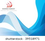 abstract business background on ... | Shutterstock . vector #39518971