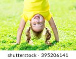 portraits of happy kid playing... | Shutterstock . vector #395206141