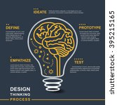 creative brainstorm concept... | Shutterstock .eps vector #395215165
