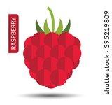 raspberry vector illustration   Shutterstock .eps vector #395219809