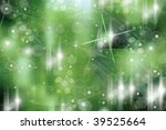 abstract bright shapes on a... | Shutterstock . vector #39525664