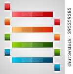 information infographic... | Shutterstock .eps vector #395259385
