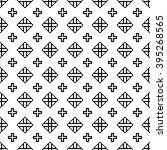 pixel graphics. black and white ...   Shutterstock .eps vector #395268565
