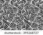 seamless monochrome abstract... | Shutterstock .eps vector #395268727