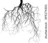 Black Root System   Vector Set