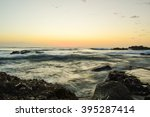 an early morning sunrise of the ... | Shutterstock . vector #395287414