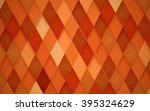 abstract rhombus orange... | Shutterstock .eps vector #395324629