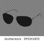 vector trendy realistic black...   Shutterstock .eps vector #395341855