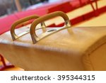 gymnastic equipment from the... | Shutterstock . vector #395344315
