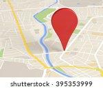 map locator icon   Shutterstock . vector #395353999