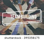 team building business... | Shutterstock . vector #395358175