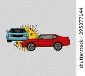 insurance vehicle design  | Shutterstock .eps vector #395377144