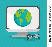 technology icon design | Shutterstock .eps vector #395381929