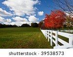 Classic Autumn Scenery In...