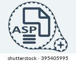 flat vector illustration. asp... | Shutterstock .eps vector #395405995