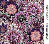 seamless pattern texture.... | Shutterstock .eps vector #395412559