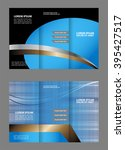 brochure design template... | Shutterstock .eps vector #395427517