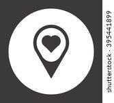 heart  icon  vector... | Shutterstock .eps vector #395441899