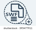 flat vector illustration. swf...