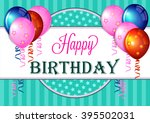 birthday. | Shutterstock .eps vector #395502031
