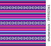 multicolor tribal navajo vector ... | Shutterstock .eps vector #395502361